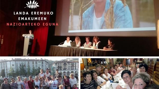LANDA EREMUKO EMAKUMEEN NAZIOARTEKO EGUNA 2017, HITZEZ, HAZI, EMAKUME BASERRITARRAK
